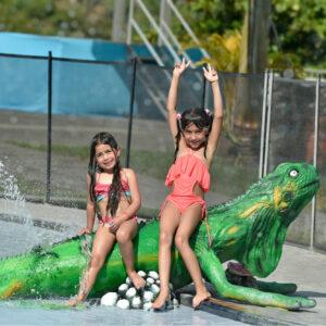 Santágueda piscina niños